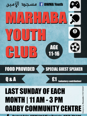 Youth Club Leaftlet FINAL Feb 2014